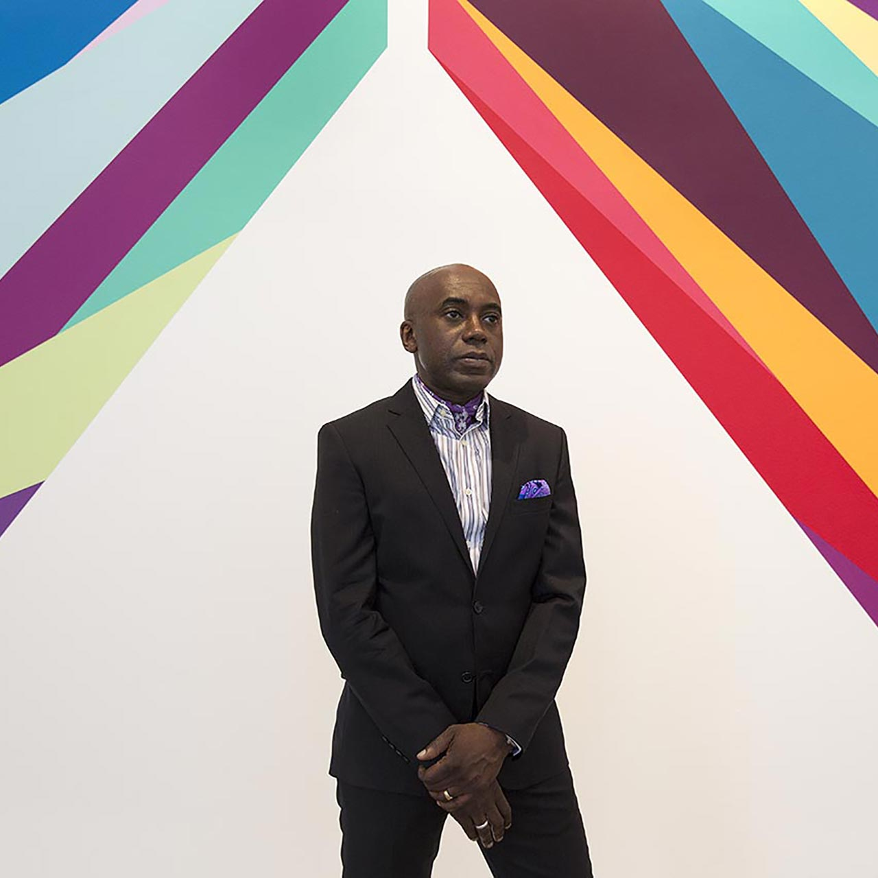 """The Differend"" di Odili Donald Odita"