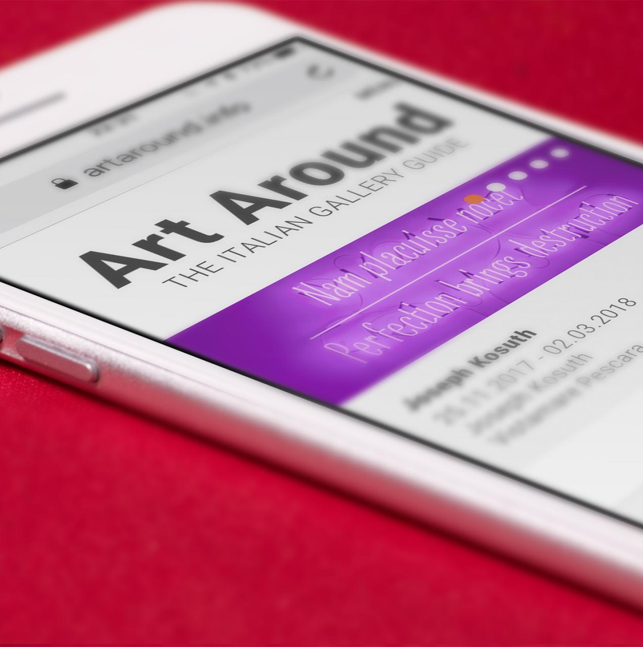 Nasce ArtAround.info, la prima piattaforma dedicata alle gallerie italiane.