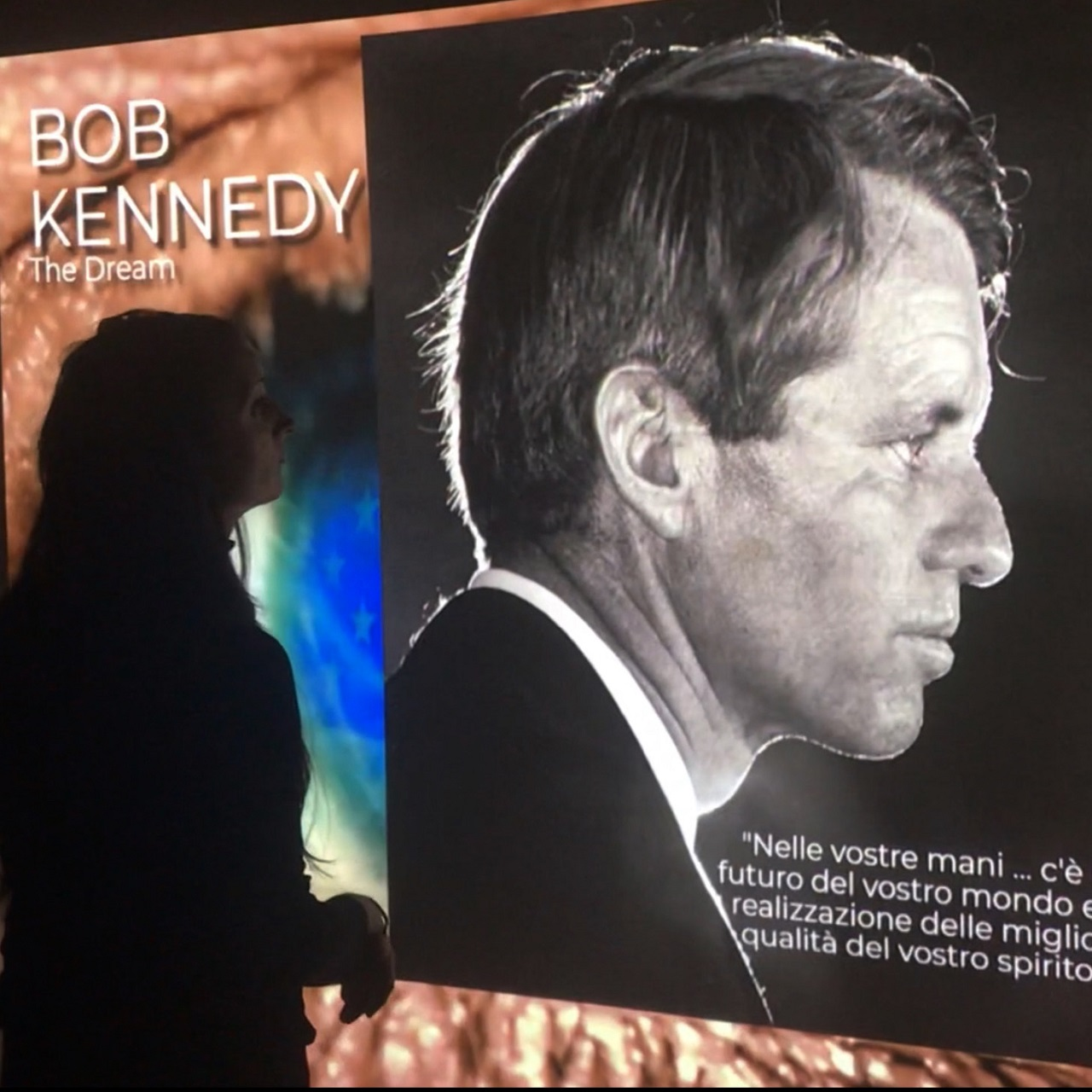 Fondazione CRC |  Bob Kennedy. The Dream – Emotional Experience