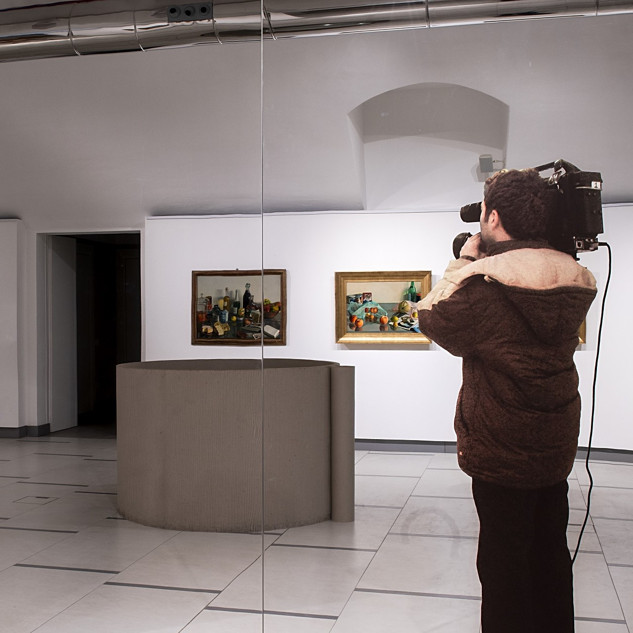 Padre e figlio | Michelangelo Pistoletto e Ettore Pistoletto Olivero