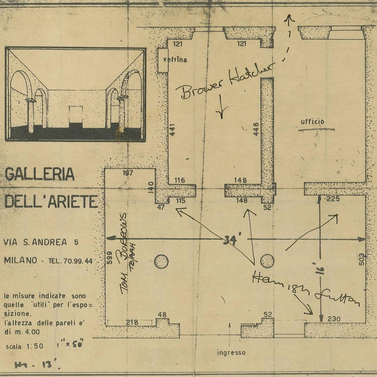 ICA Milano | Hans Josephsohn | Galleria dell'Ariete