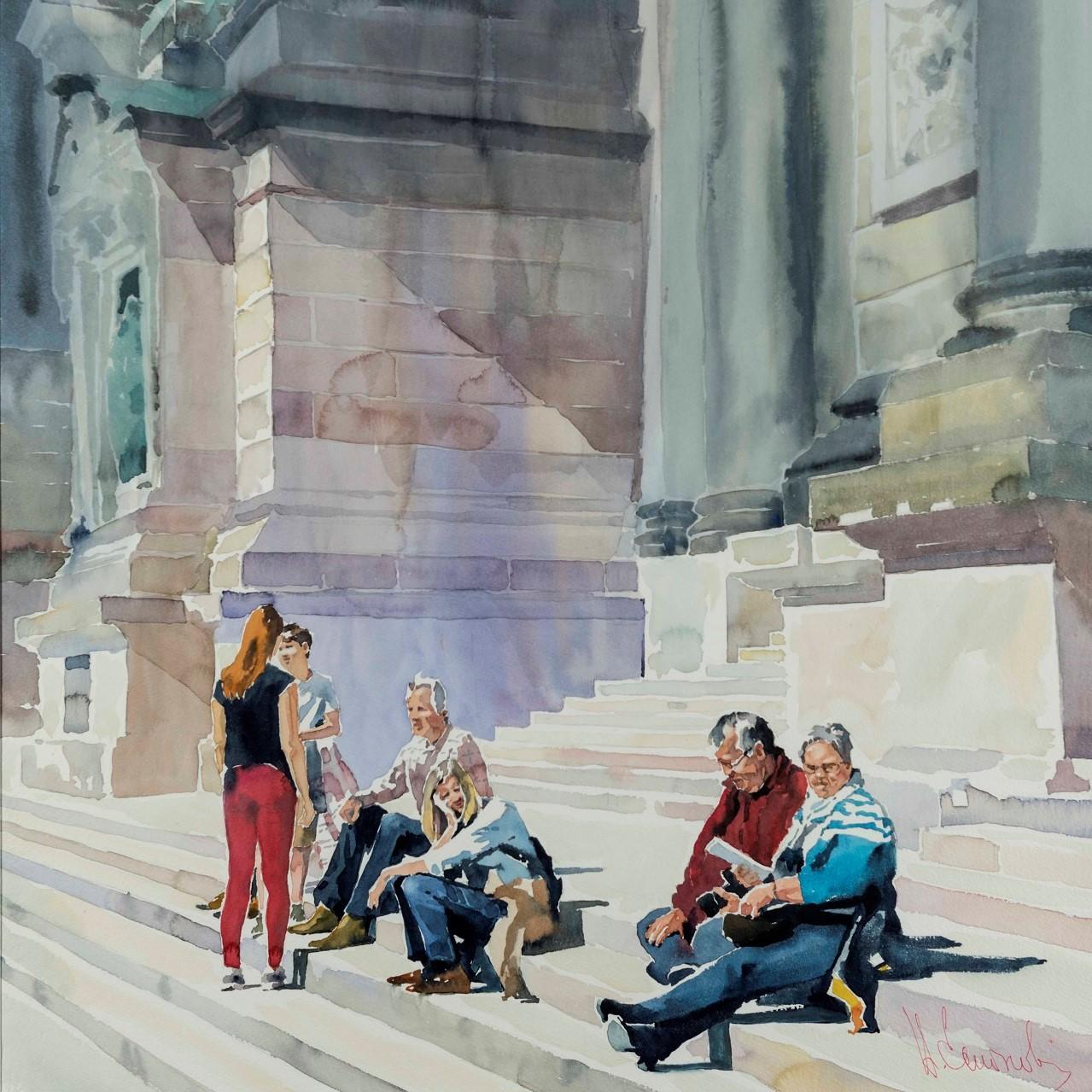 Musei di San Salvatore in Lauro, Roma | Andrey Esionov