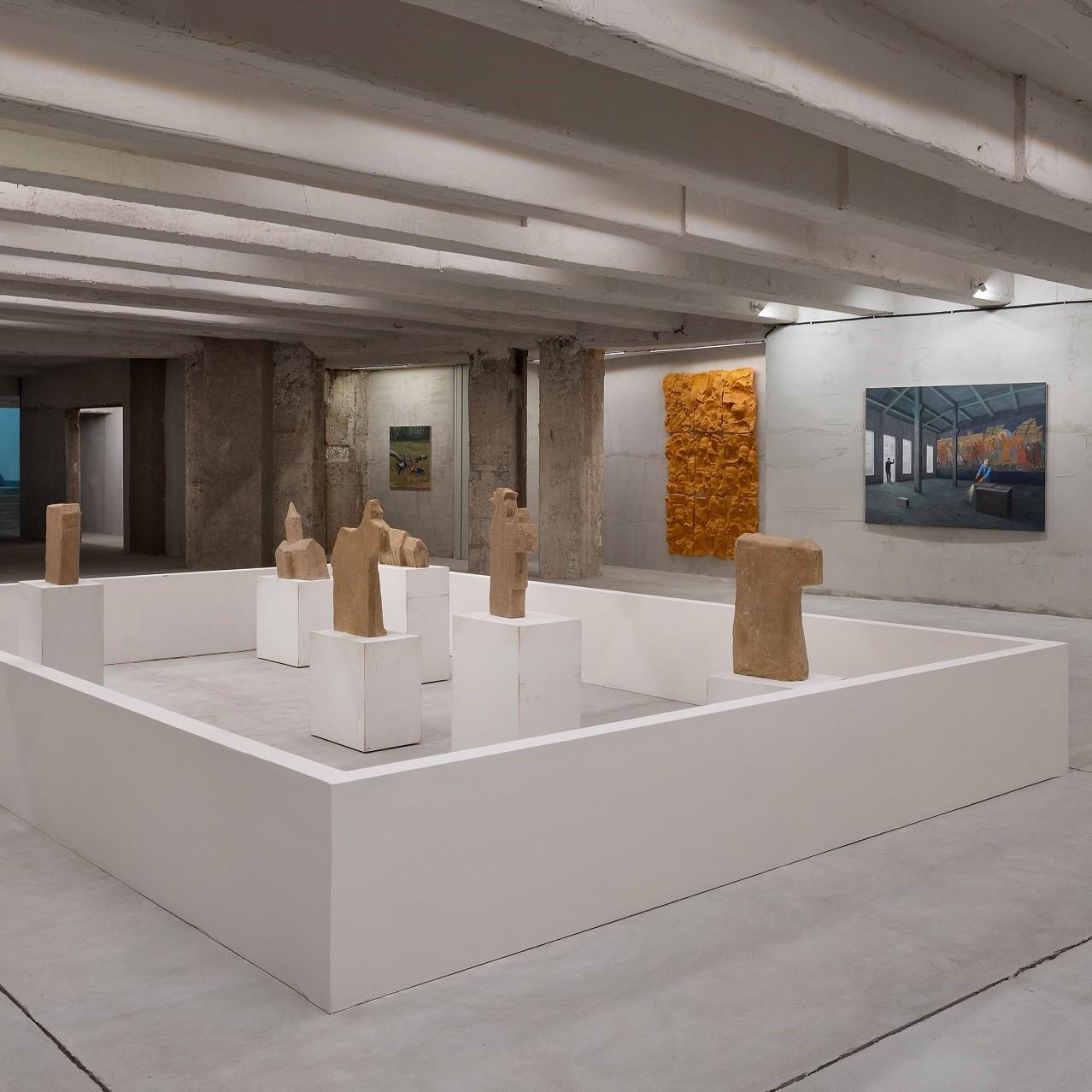 La Fondazione | Geta Brӑtescu – Adrian Ghenie – Ciprian Mureşan – Şerban Savu