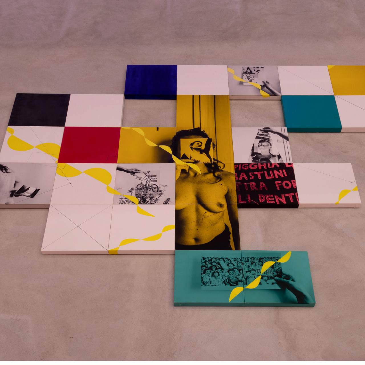 Cartoline da PCM Studio | La Fondazione, Claire Fontaine | Pasquarosa | Marinella Senatore